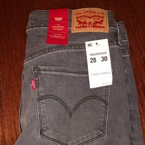 Levi's Shaping Skinny Jeans - Size 28